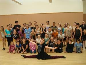 Lucy Winter Dance Workshop