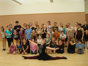 Lucy Winter Dance Workshop